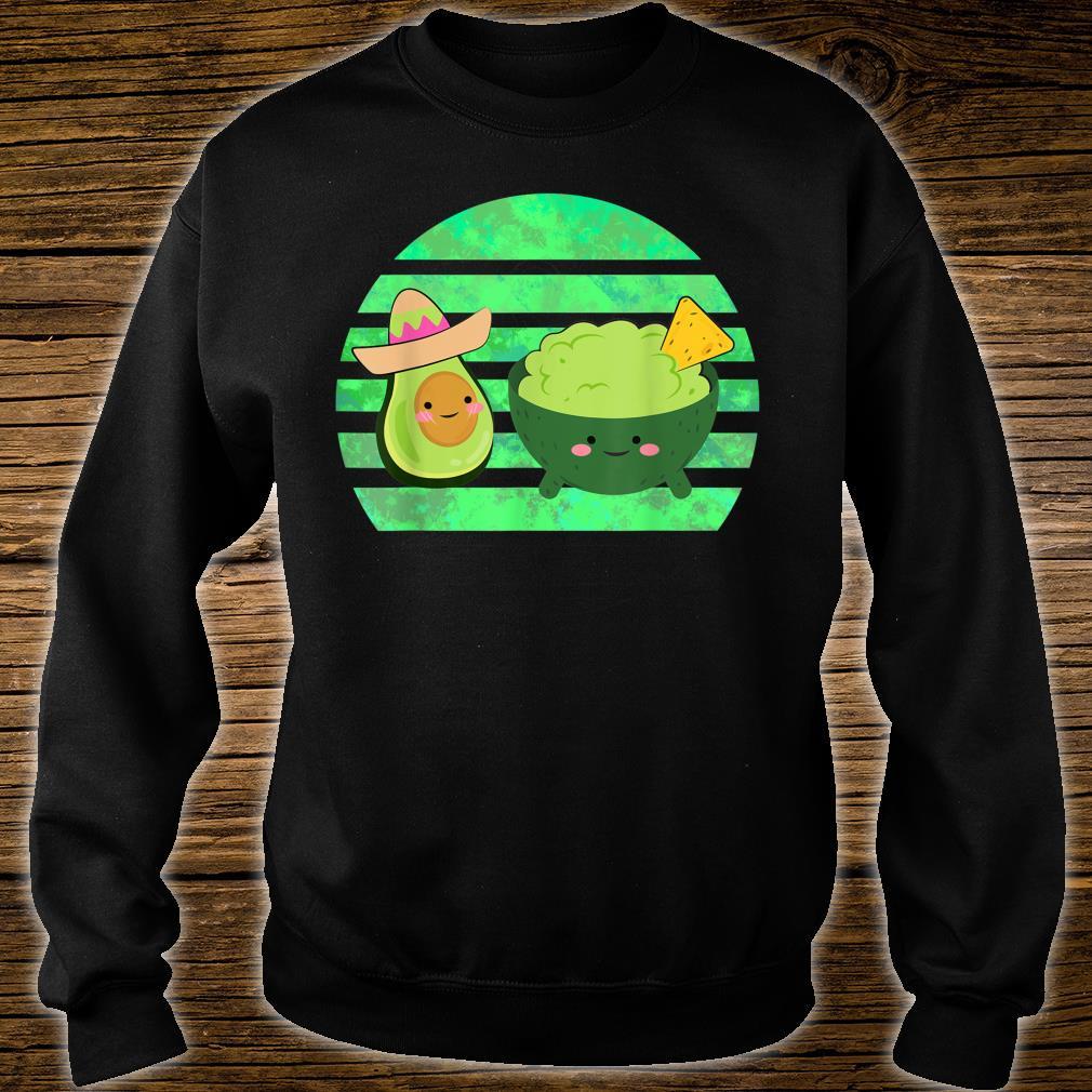 Guacamole Dip Mexican Avocado Nacho Fast Food Shirt sweater
