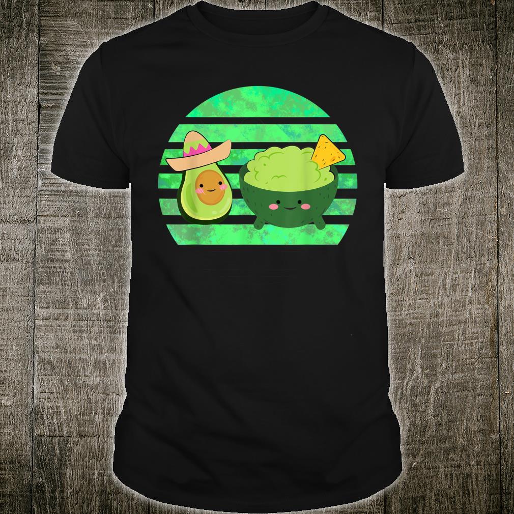 Guacamole Dip Mexican Avocado Nacho Fast Food Shirt