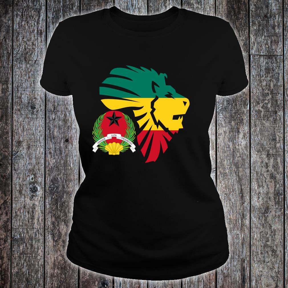 GuineaBissau Seal Lion Africa Diaspora Shirt ladies tee