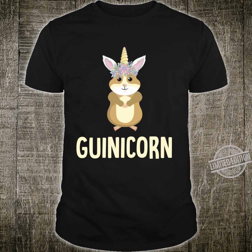Guinicorn Guinea Pig Cute Cavy Unicorn Animal Pet Shirt