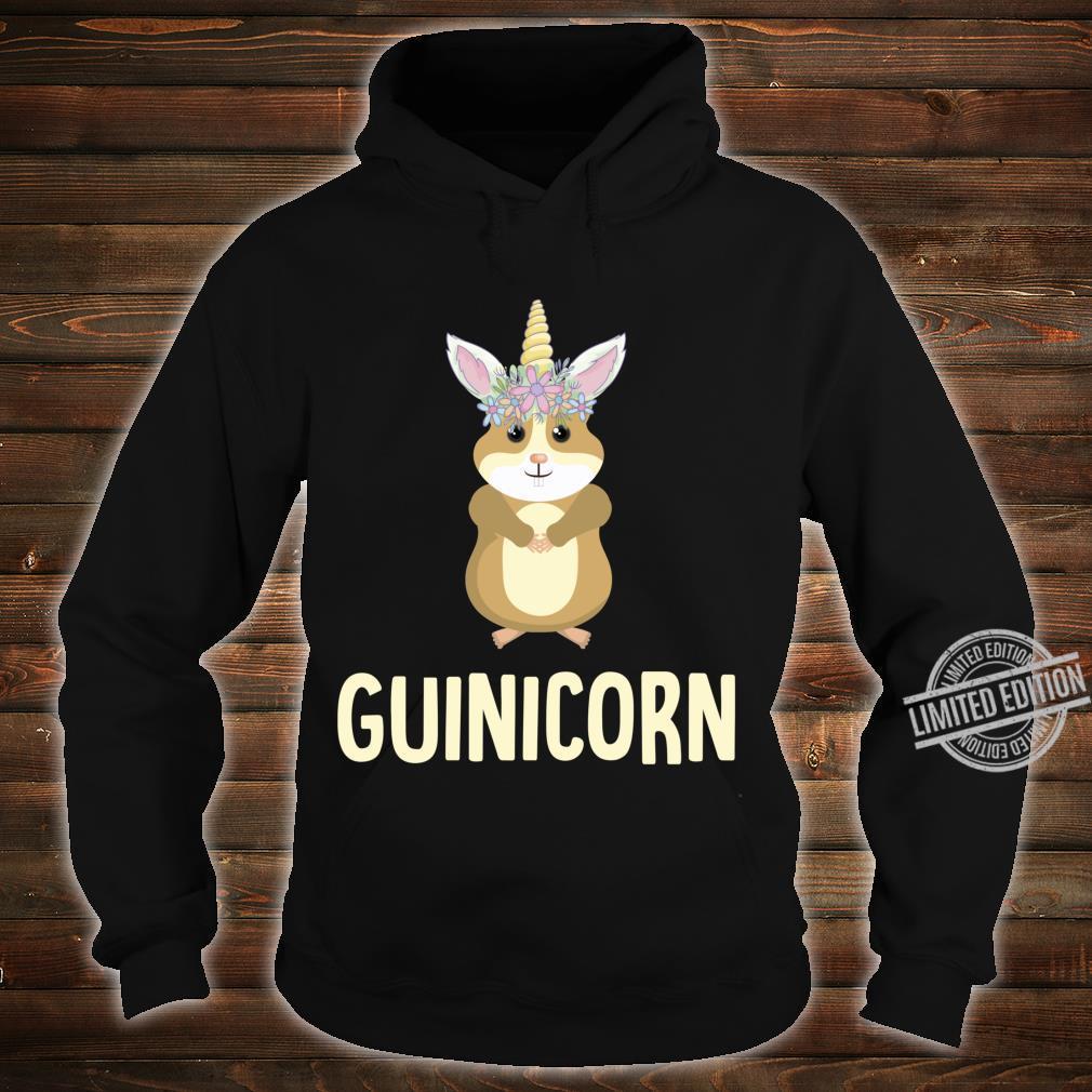 Guinicorn Guinea Pig Cute Cavy Unicorn Animal Pet Shirt hoodie