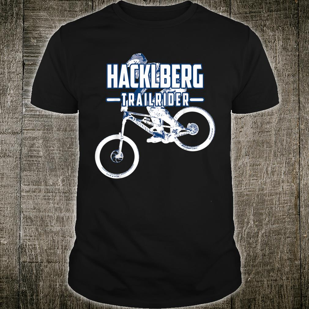 Hacklberg Trailpark Fahrrad MTB Downhill Zubehör Shirt