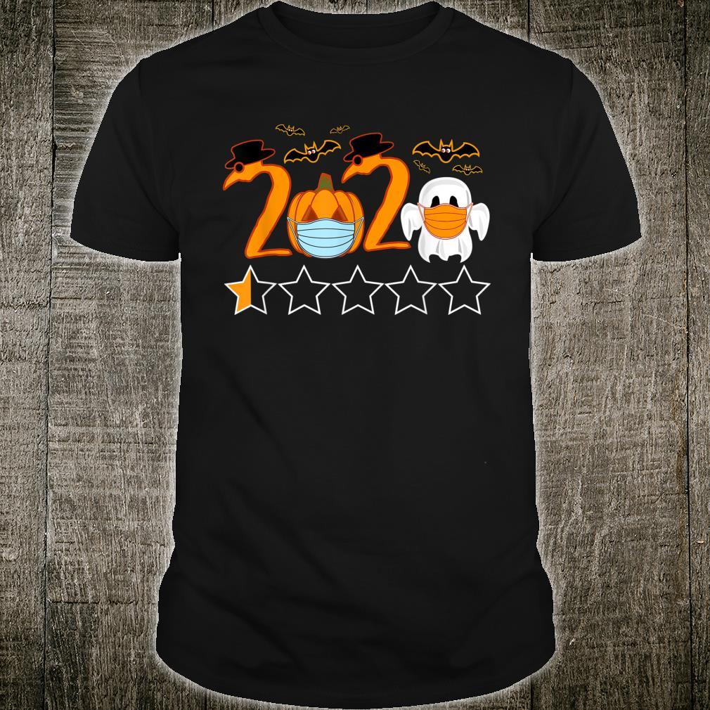 Halloween 2020 Pest Doktor Kürbis Geist mit Gesichtsmasken Shirt