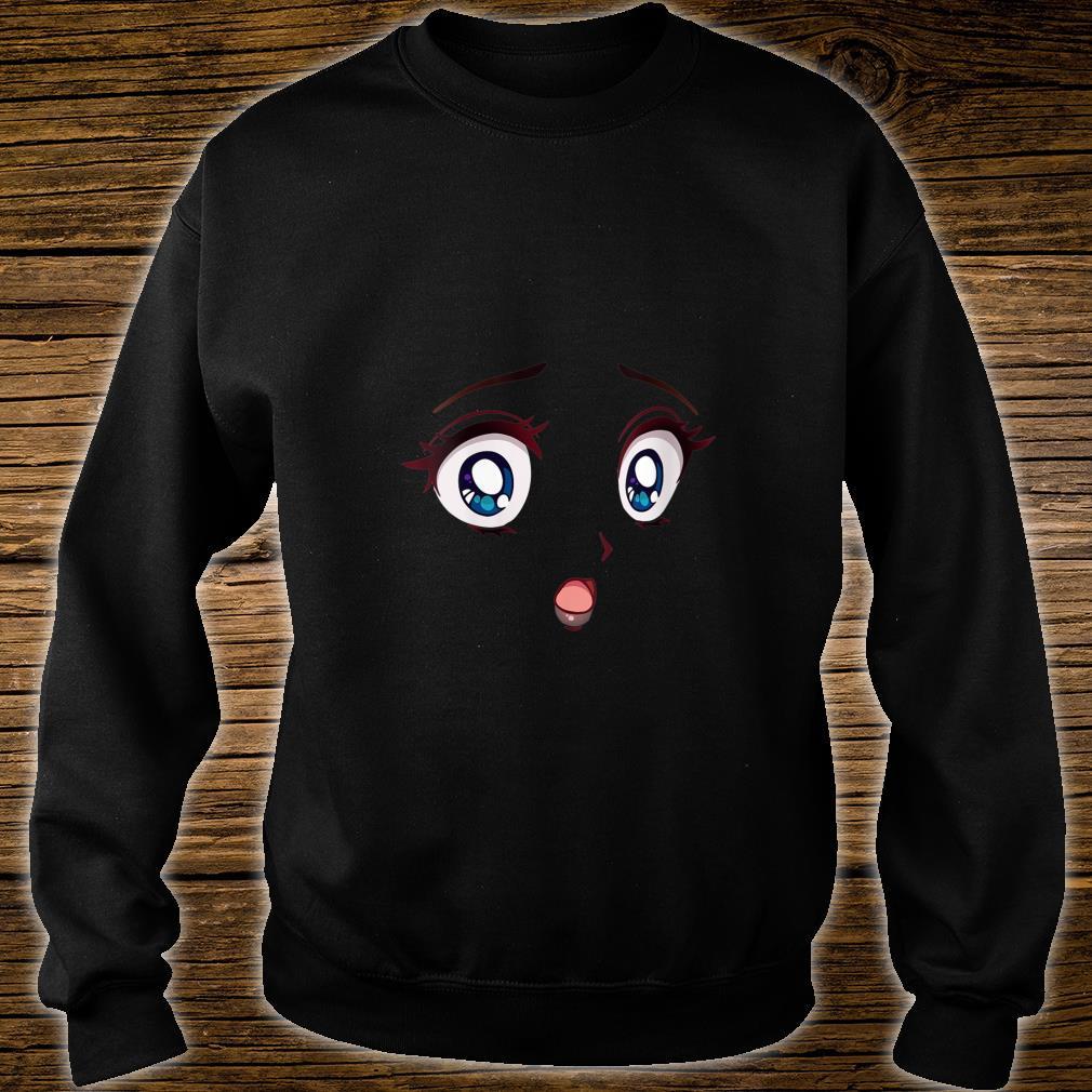Halloween Anime Eyes Manga Otaku Cosplay Comic Japanese Shirt sweater