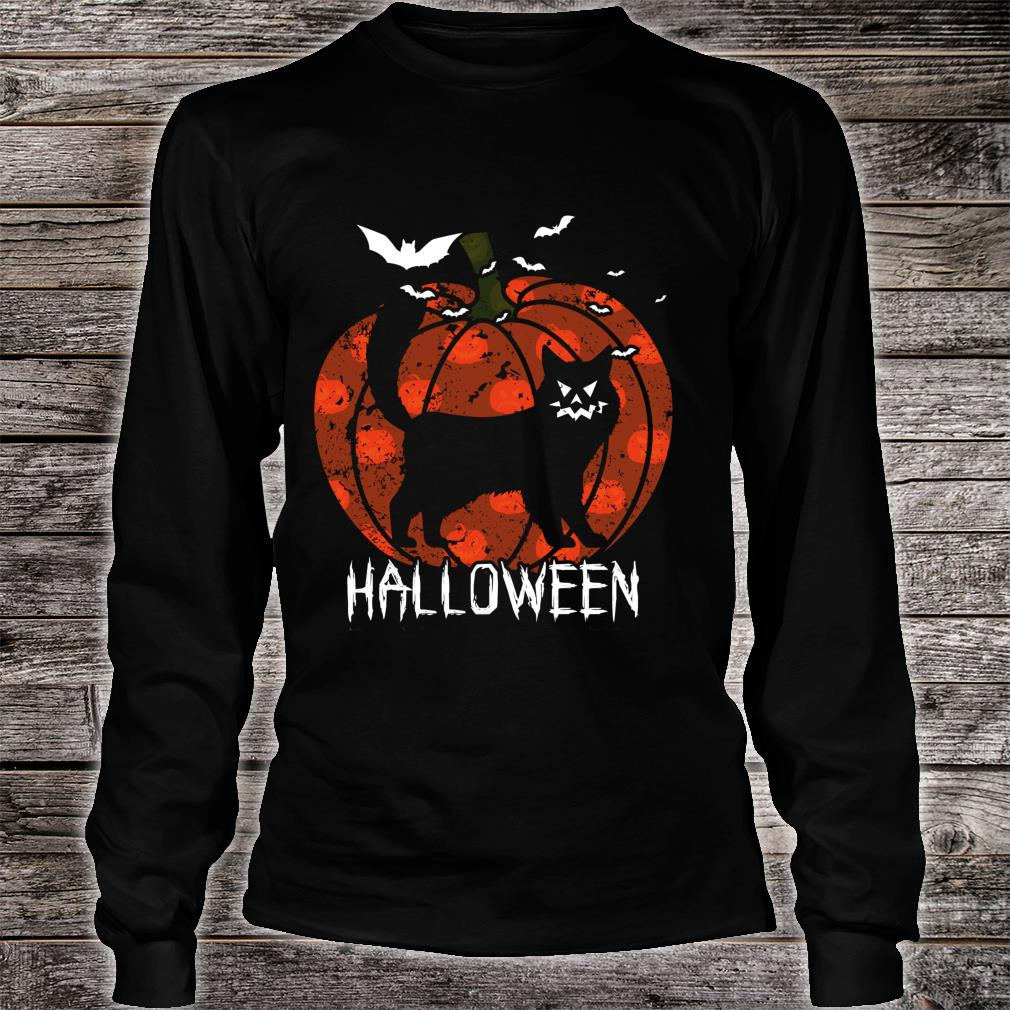 Halloween Kitty Scariest Cats Shirt long sleeved