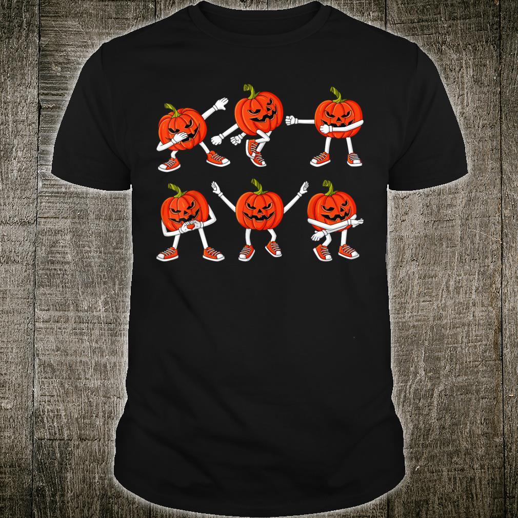 Halloween Tanzende Jack O Laternen Lustig Shirt