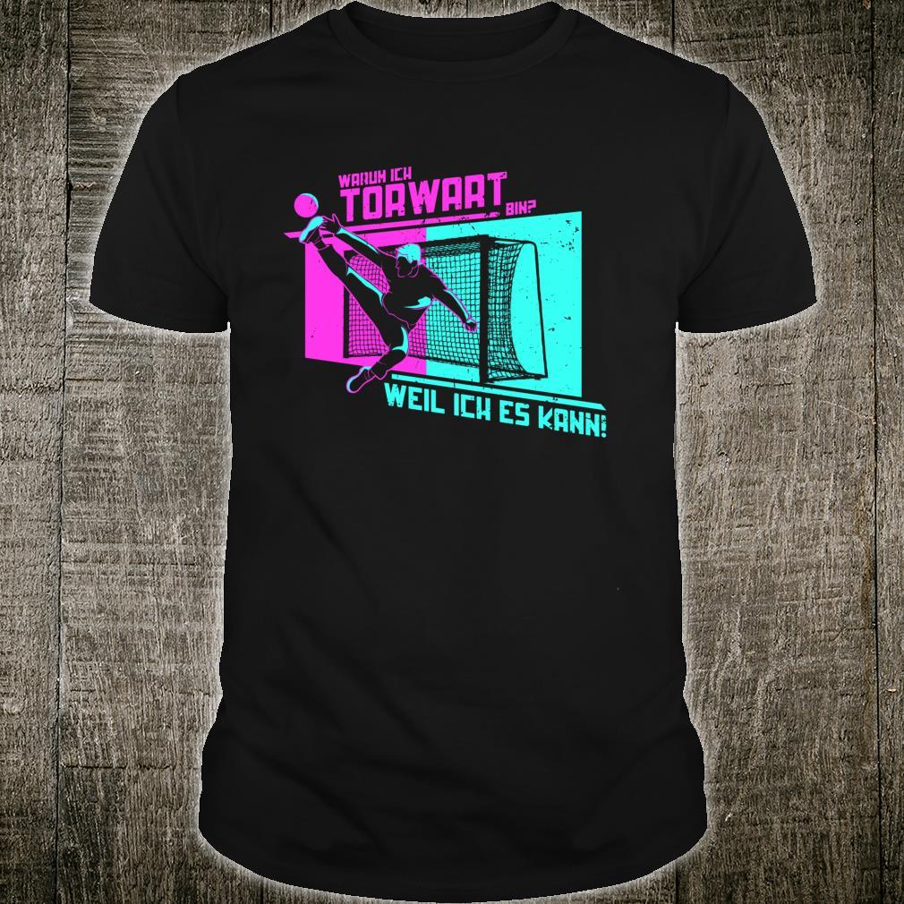 Handballer Geschenk für Handball Torwart Shirt