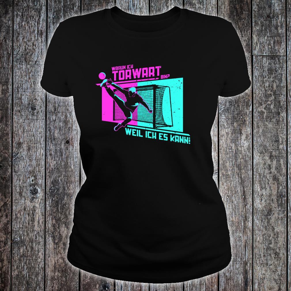 Handballer Geschenk für Handball Torwart Shirt ladies tee