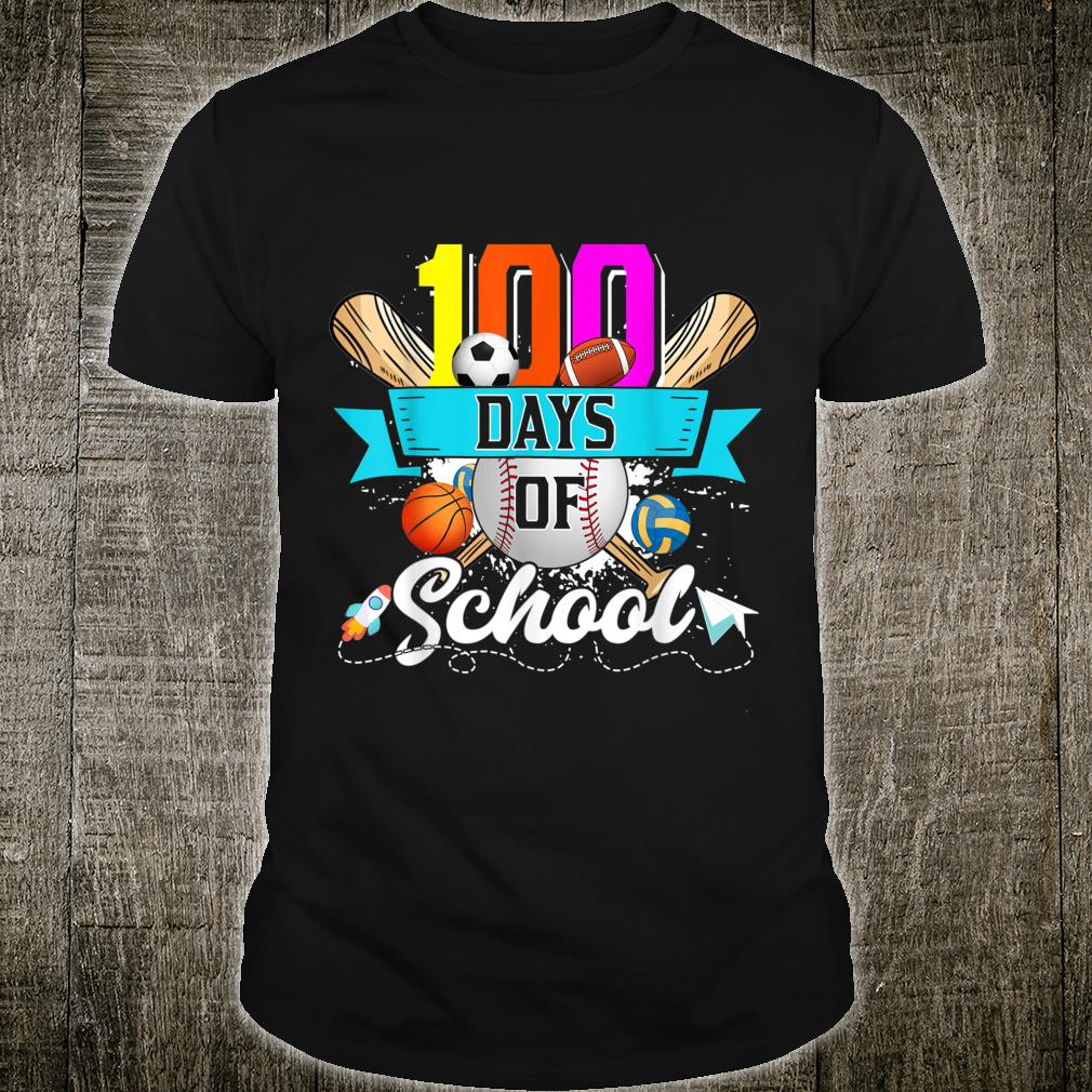 Happy 100th Day Of School 100 Days Of School Shirt