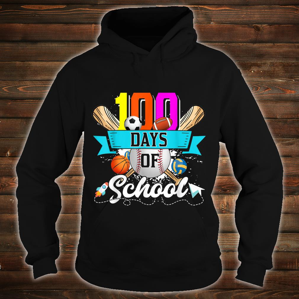 Happy 100th Day Of School 100 Days Of School Shirt hoodie