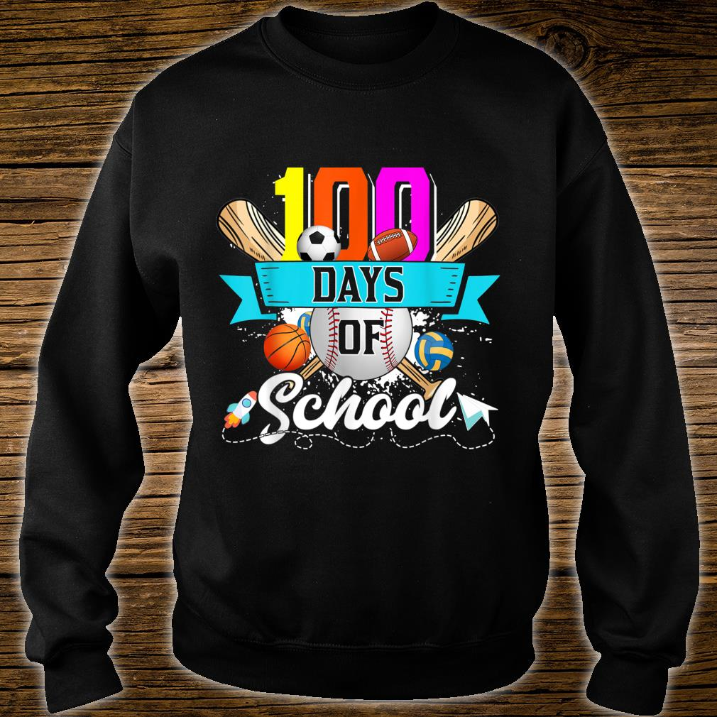 Happy 100th Day Of School 100 Days Of School Shirt sweater