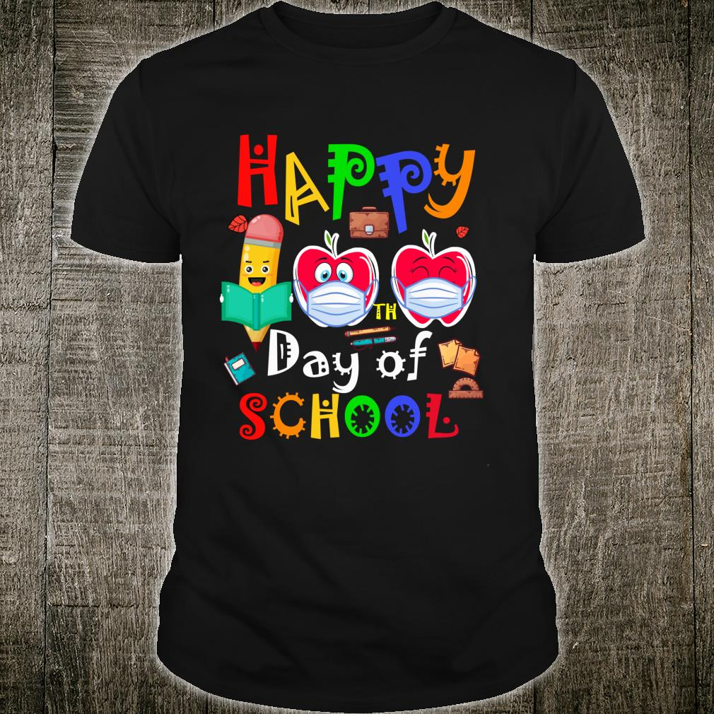 Happy 100th Day Of Virtual School Students And Teachers Shirt
