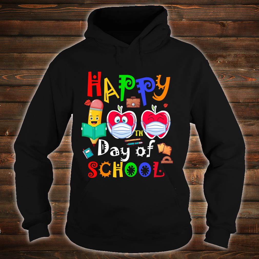 Happy 100th Day Of Virtual School Students And Teachers Shirt hoodie