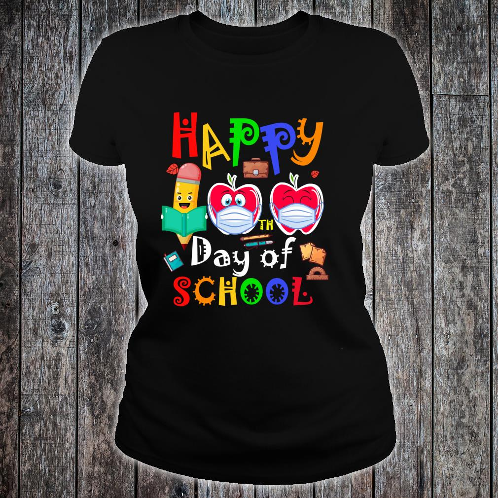 Happy 100th Day Of Virtual School Students And Teachers Shirt ladies tee