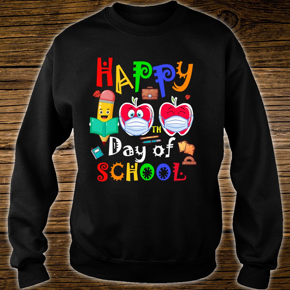 Happy 100th Day Of Virtual School Students And Teachers Shirt sweater