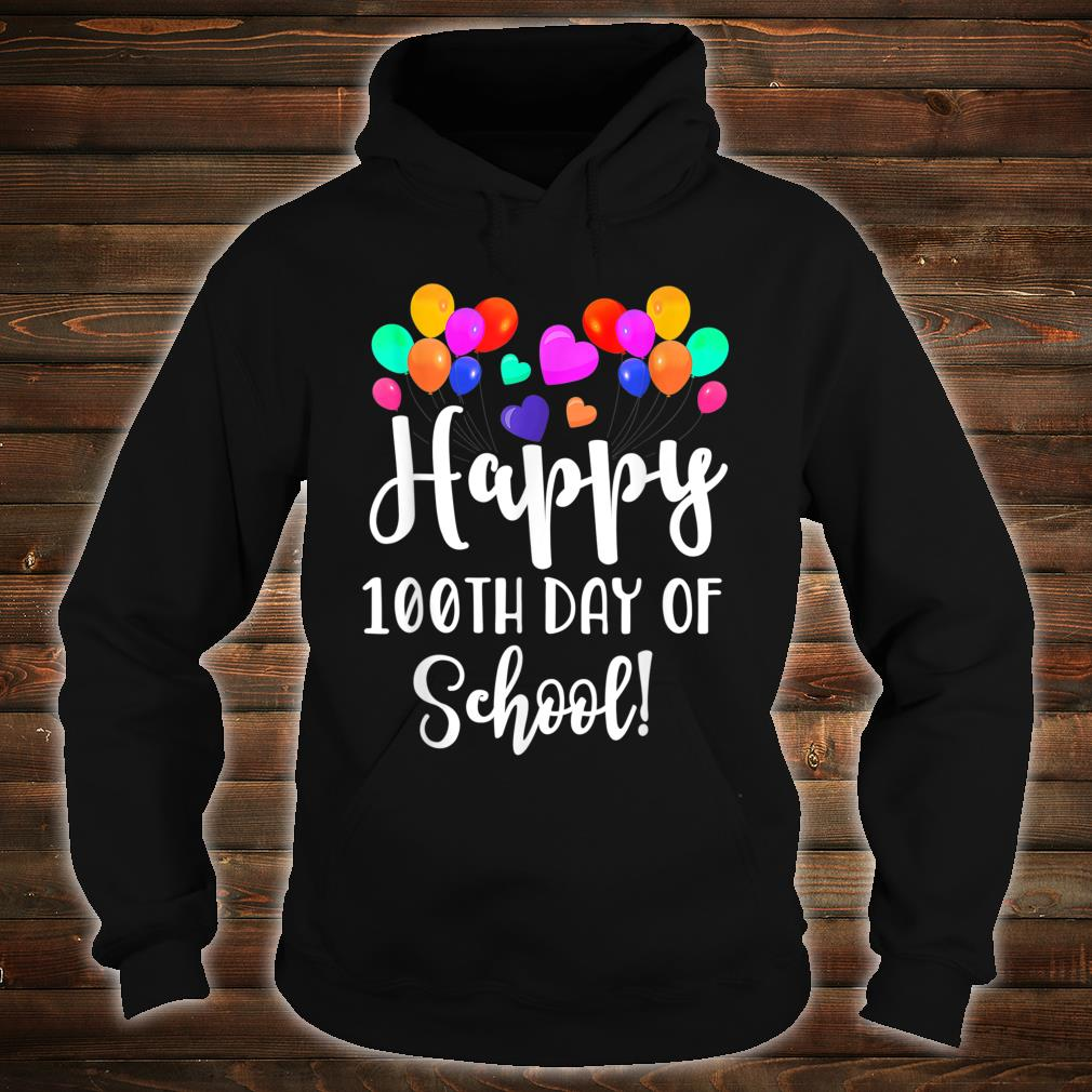 Happy 100th Day of School Shirt for Teacher or Child Shirt hoodie