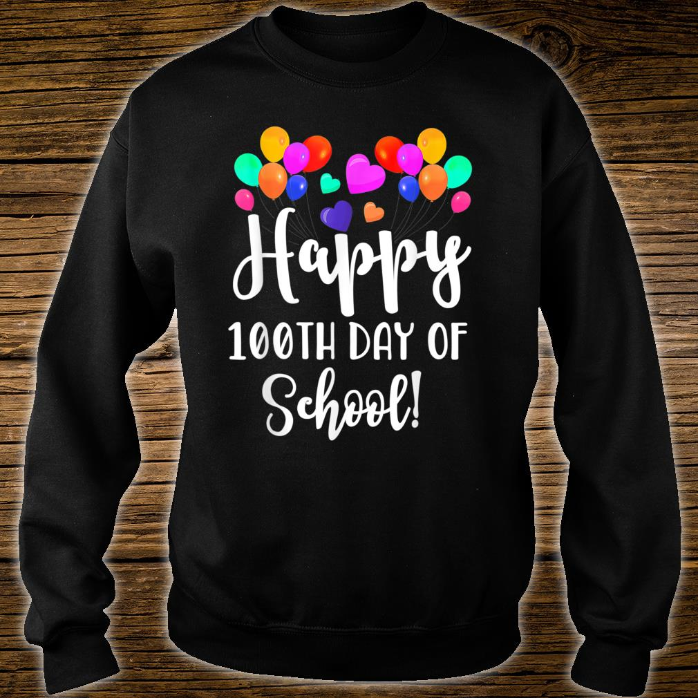 Happy 100th Day of School Shirt for Teacher or Child Shirt sweater