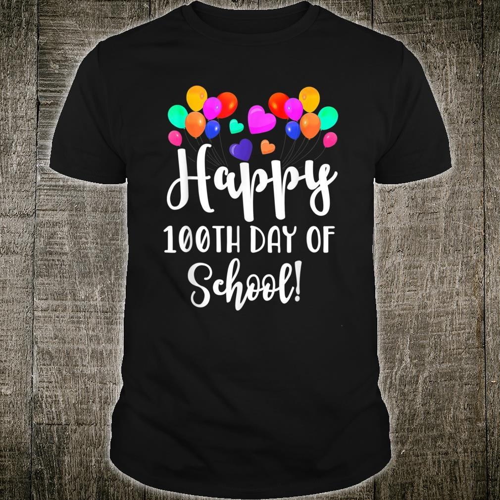 Happy 100th Day of School Shirt for Teacher or Child Shirt