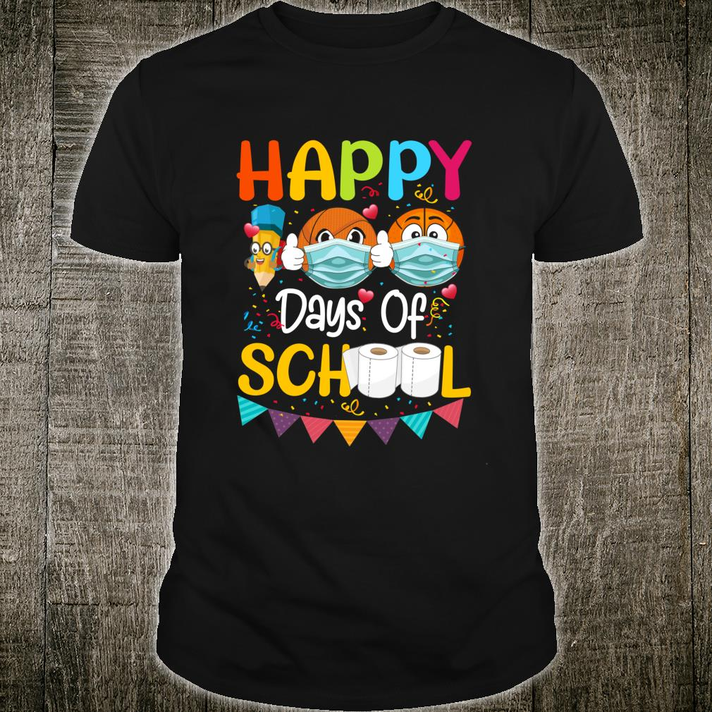 Happy 100th Day of School for Love Basketball Shirt