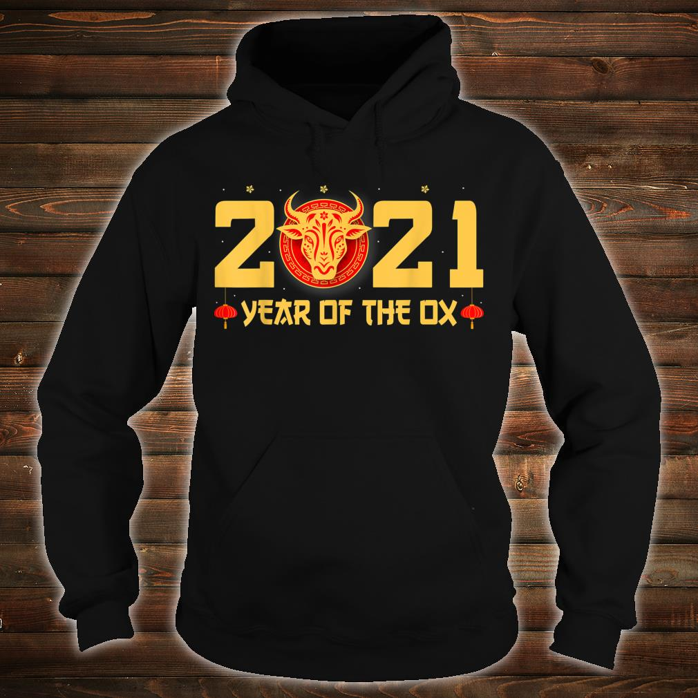 Happy Chinese New Year 2021 Year Of The Ox Shirt hoodie