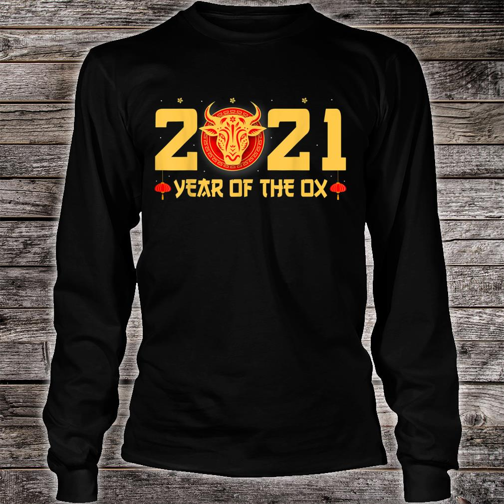 Happy Chinese New Year 2021 Year Of The Ox Shirt long sleeved