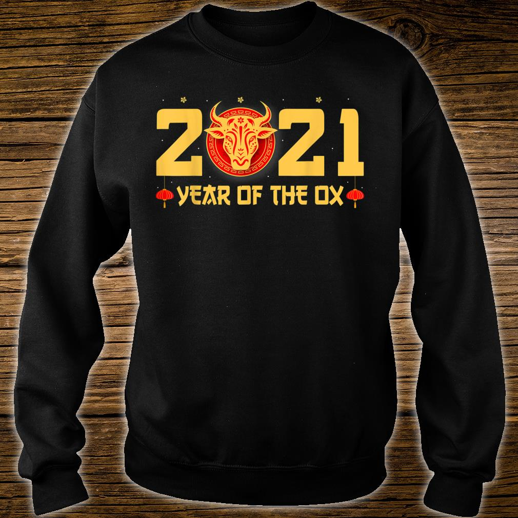Happy Chinese New Year 2021 Year Of The Ox Shirt sweater