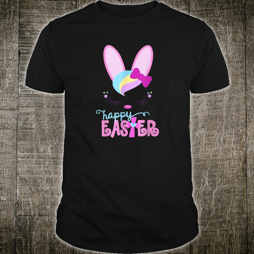 Happy Easter Bunny Sleeping Christians Girls Shirt