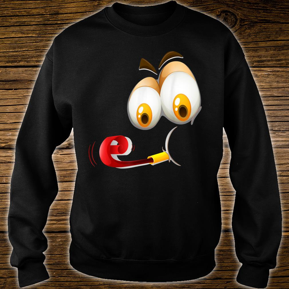 Happy Face Humor Shirt sweater