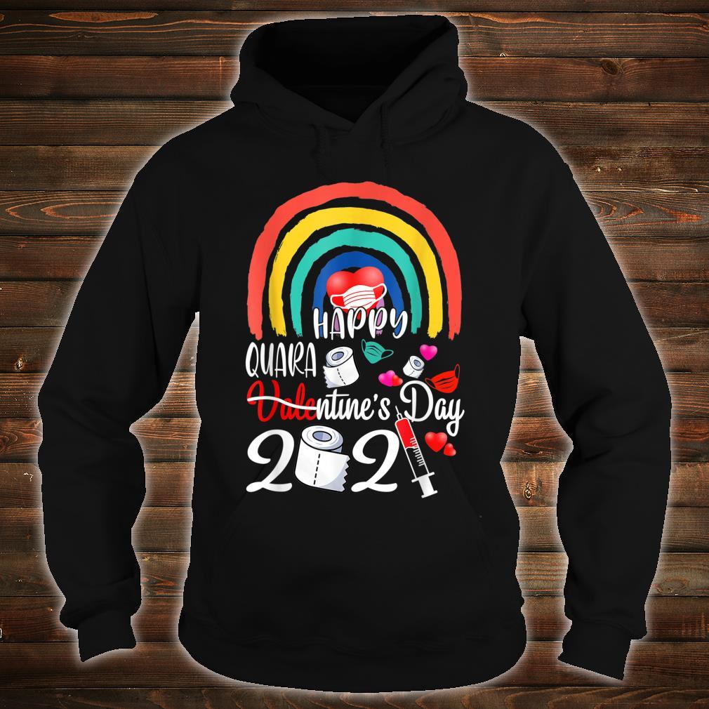 Happy Quarantine Valentines Day 2021 LGBT LesbianGay Pride Shirt hoodie