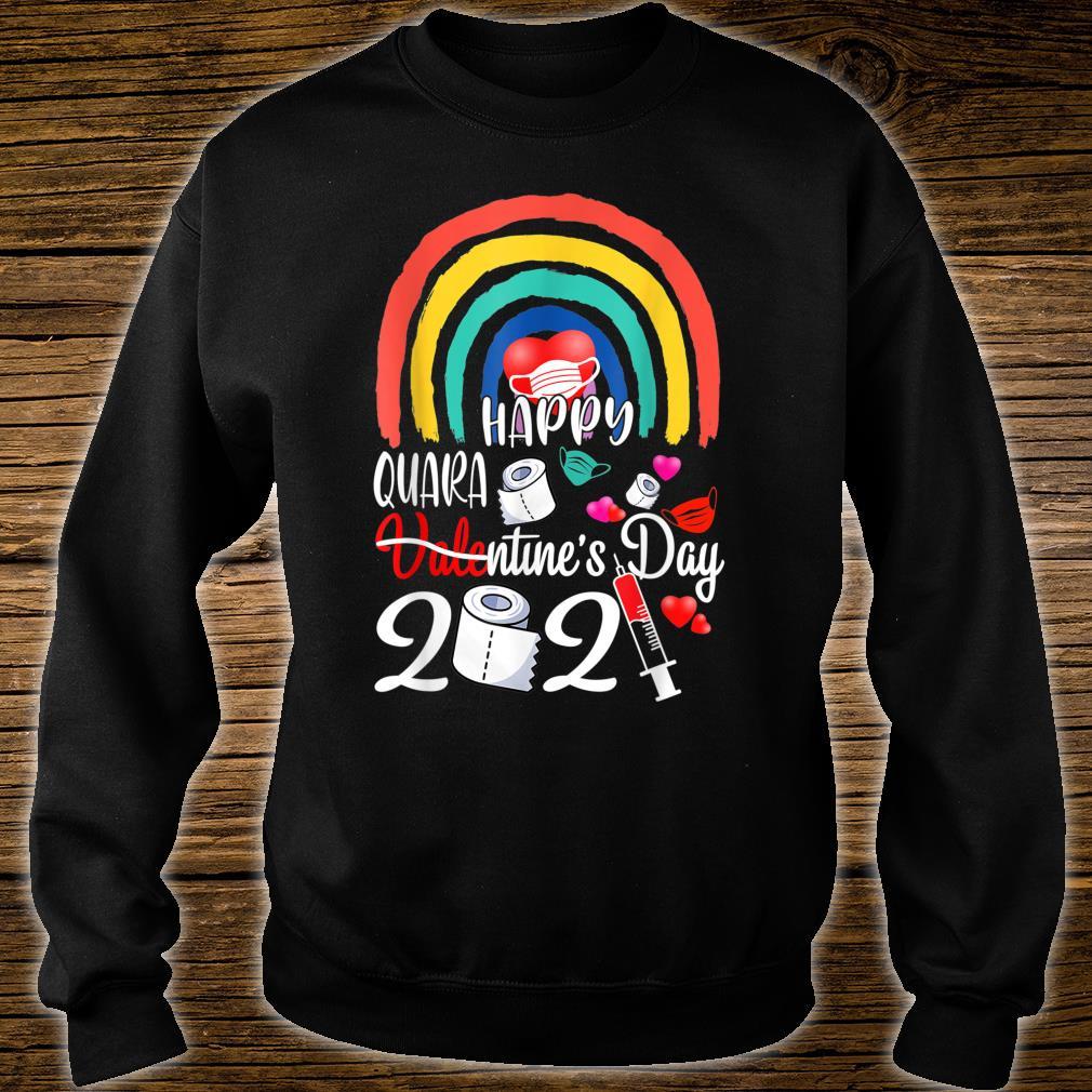 Happy Quarantine Valentines Day 2021 LGBT LesbianGay Pride Shirt sweater