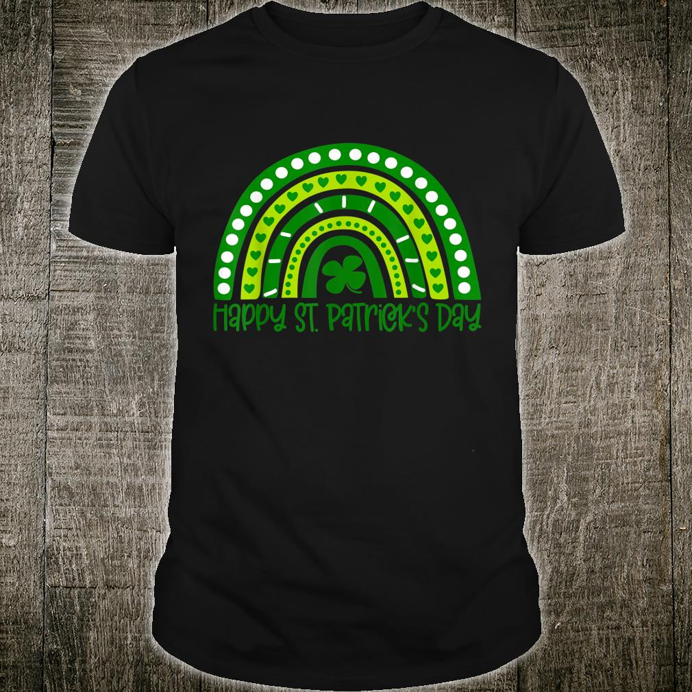 Happy St. Patrick's Day Irish Shamrock Rainbow Patricks Shirt