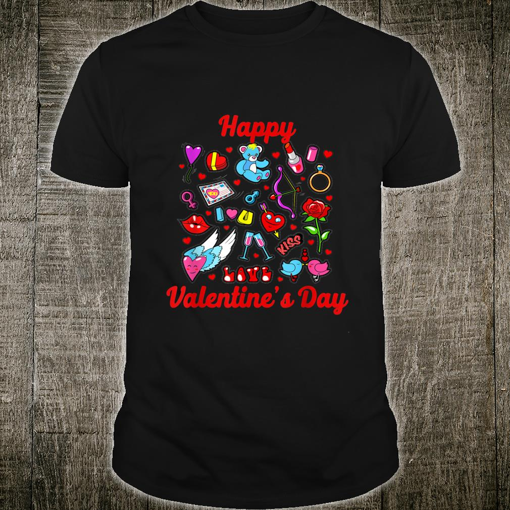 Happy Valentine Day Couple, for Shirt