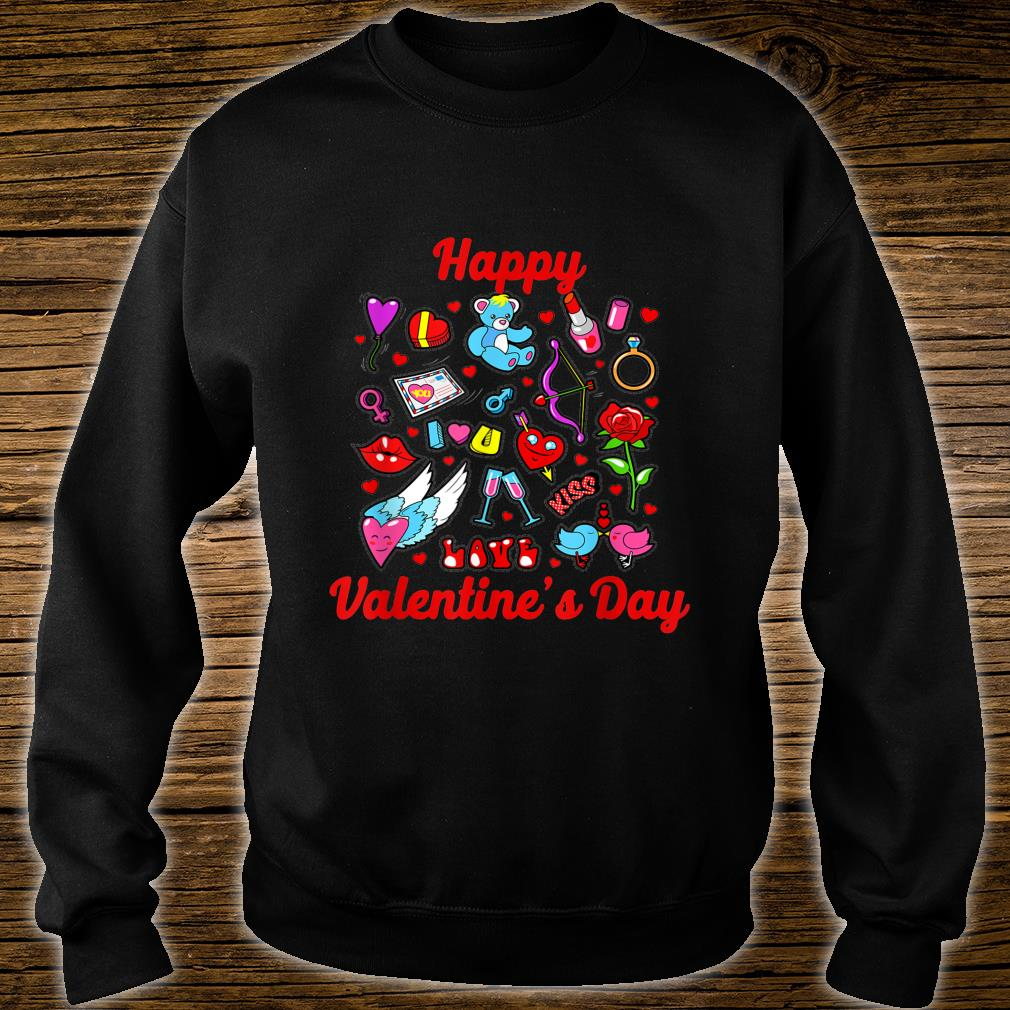 Happy Valentine Day Couple, for Shirt sweater