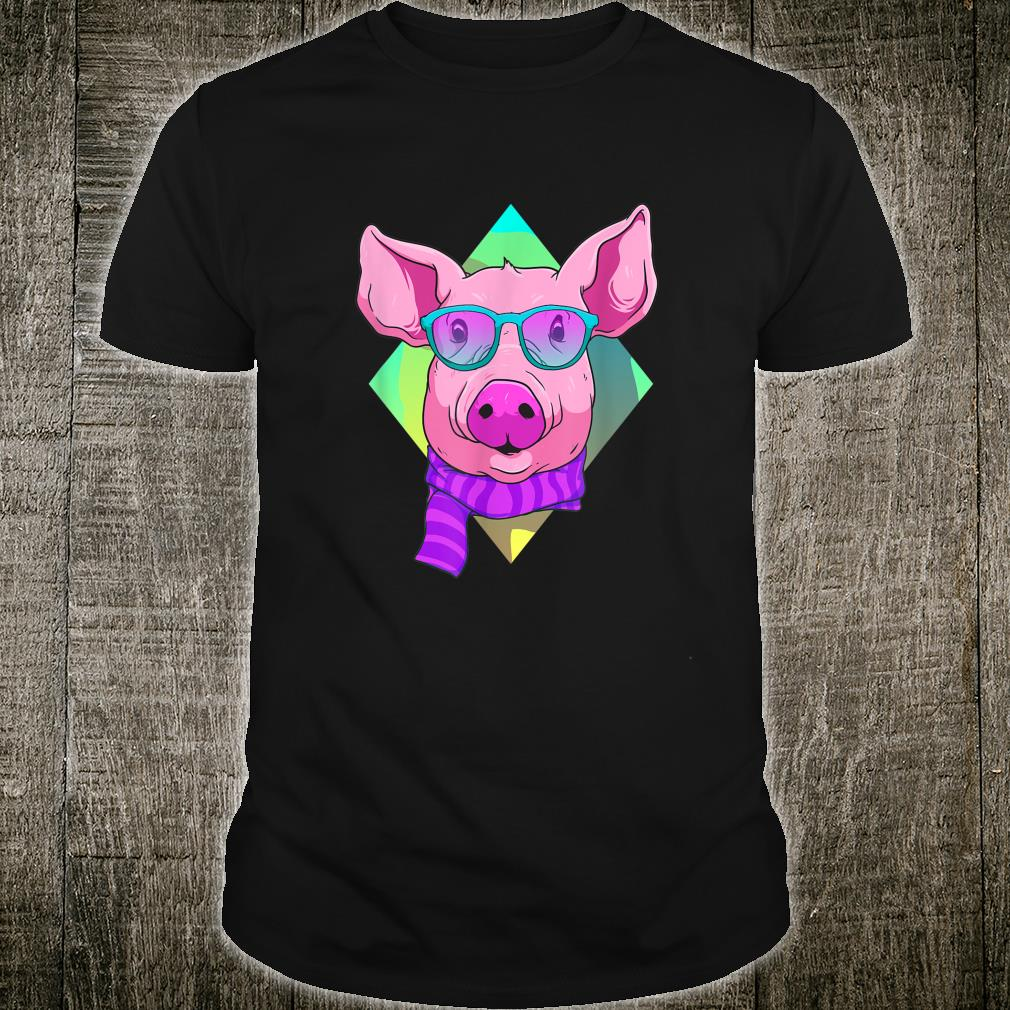 Hipster Pig Cute Pigs Ideas Shirt