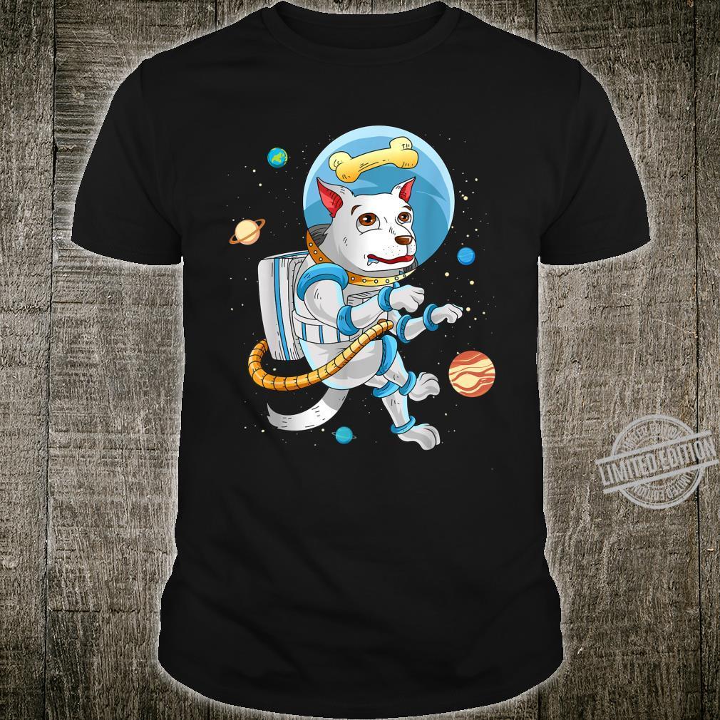 Hund Astronaut Für Hundeliebhaber Geschenk Lustig Weltraum Shirt