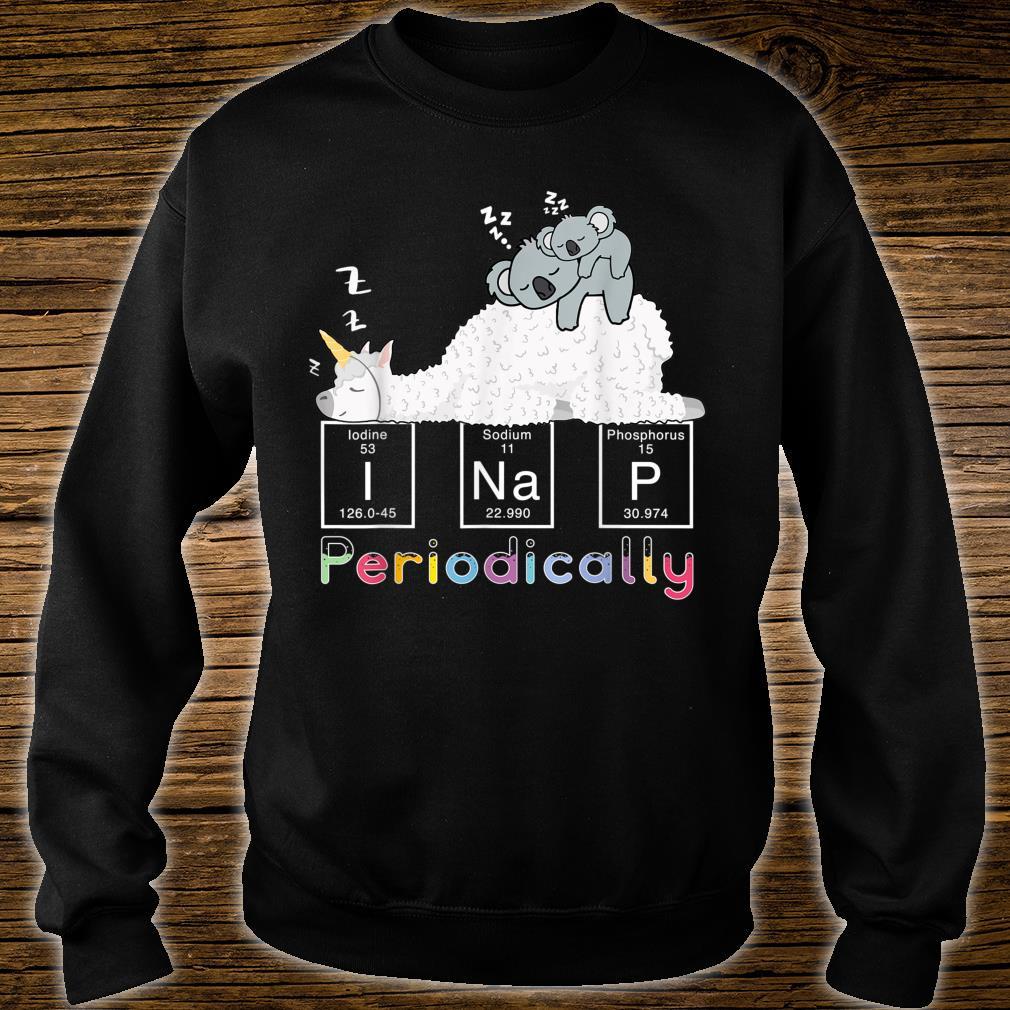 I Nap Periodically Science Unicorn llama Koala Mama Bear Shirt sweater