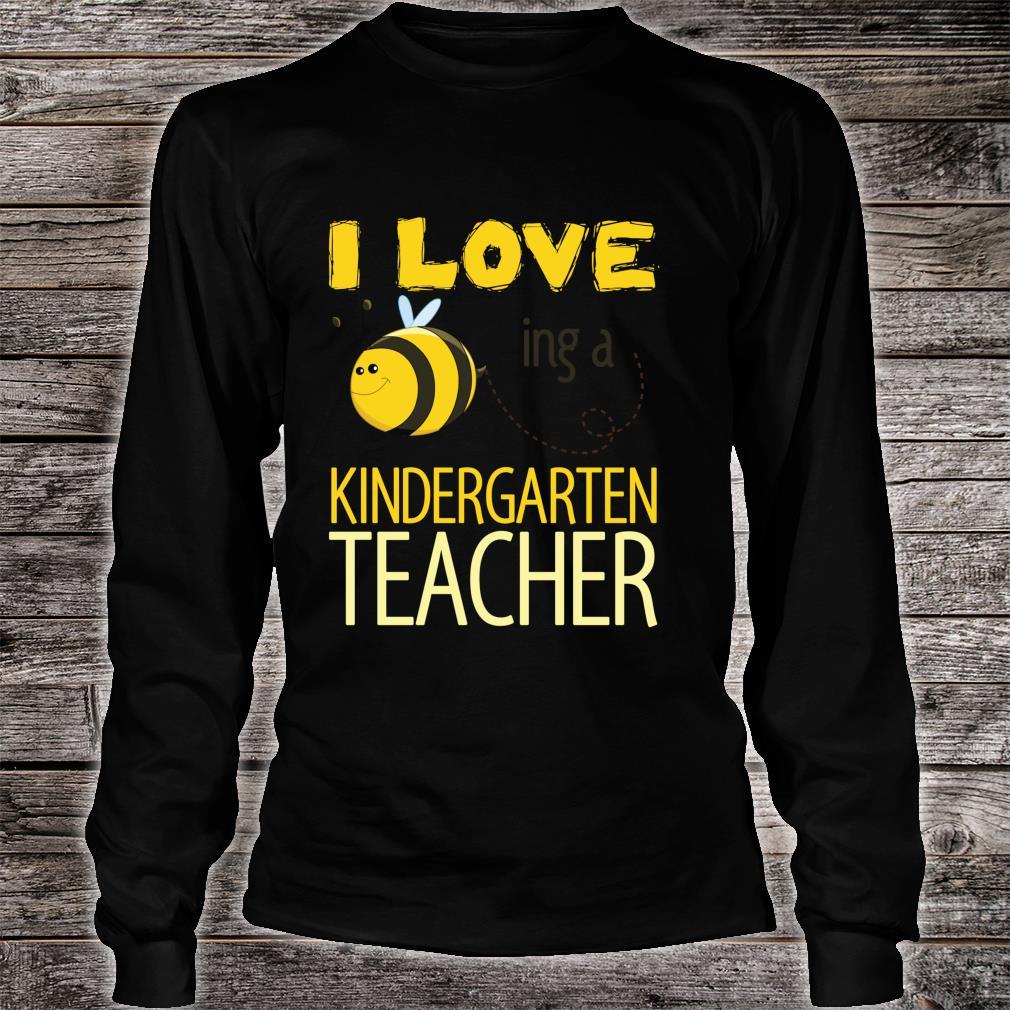 I love being a kindergarten teacher cutes. Shirt long sleeved