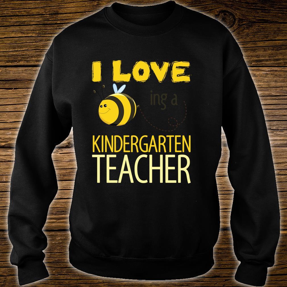 I love being a kindergarten teacher cutes. Shirt sweater