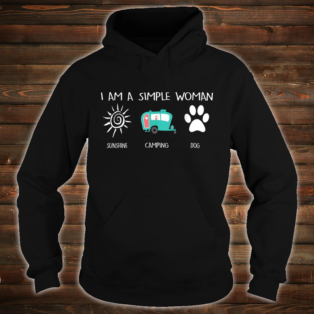 I'm a simpleSunshine Camping Dogs Shirt hoodie