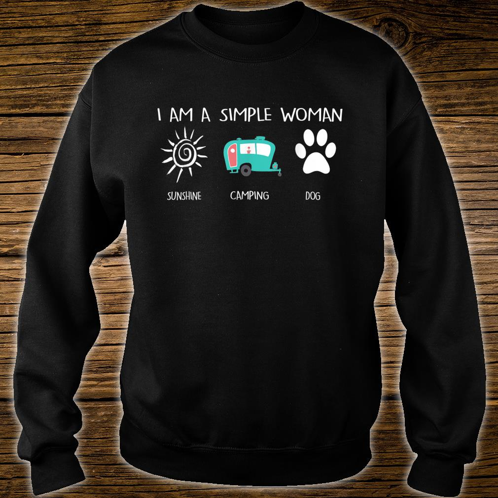 I'm a simpleSunshine Camping Dogs Shirt sweater