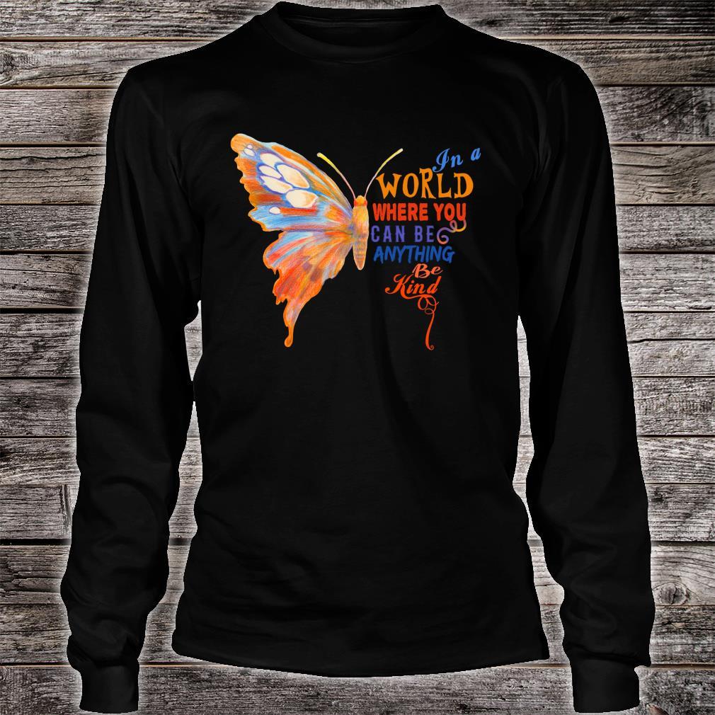 In A World Be Kind Anti Mobbing Nett Inspirierend Güte Shirt long sleeved