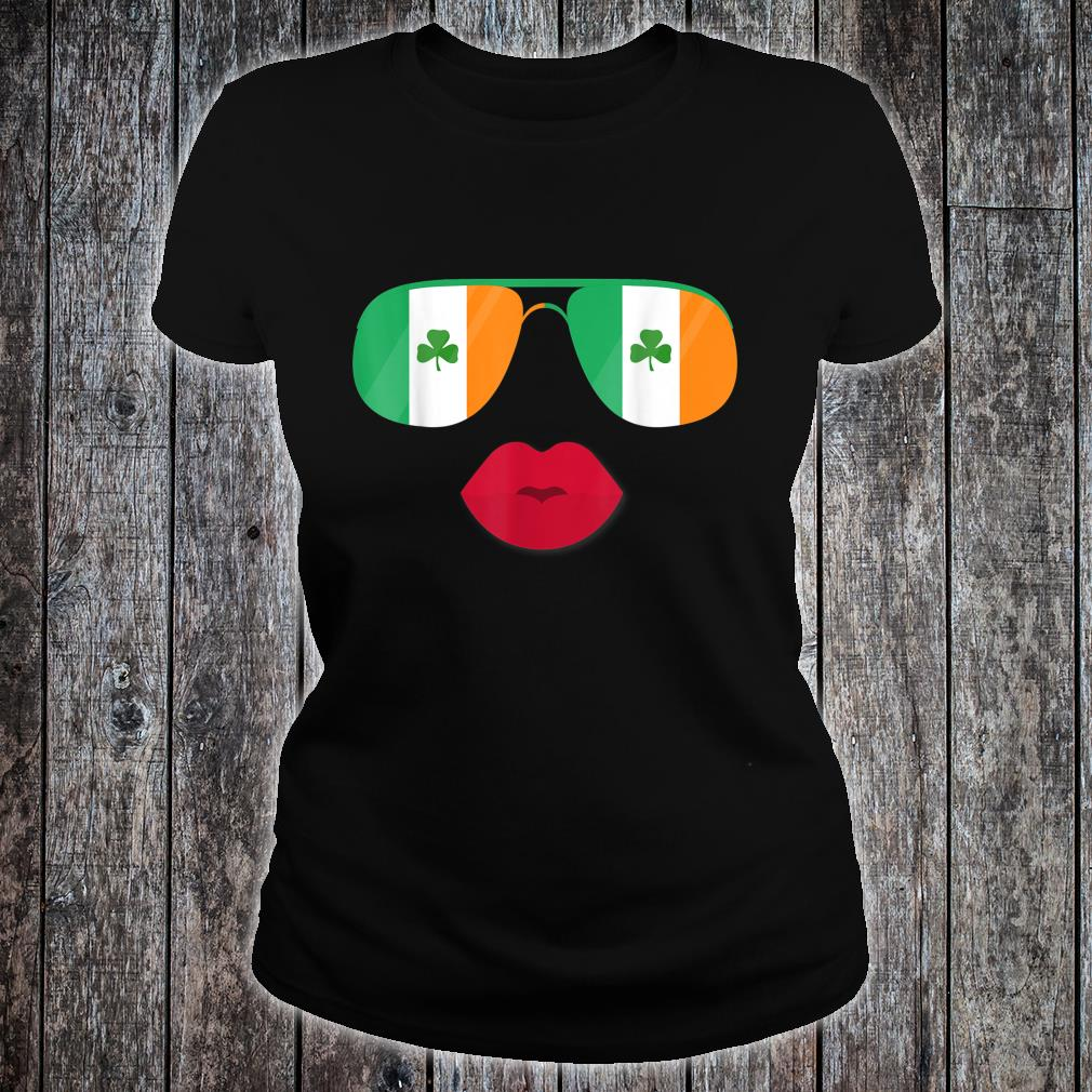Irland Flagge Ireland Flag Irische Flaggen für Damen Herren Shirt ladies tee