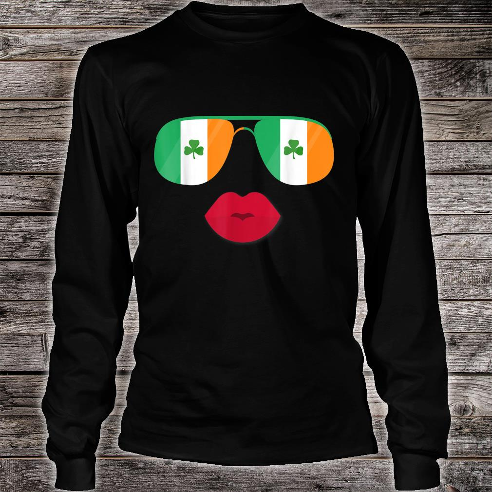 Irland Flagge Ireland Flag Irische Flaggen für Damen Herren Shirt long sleeved