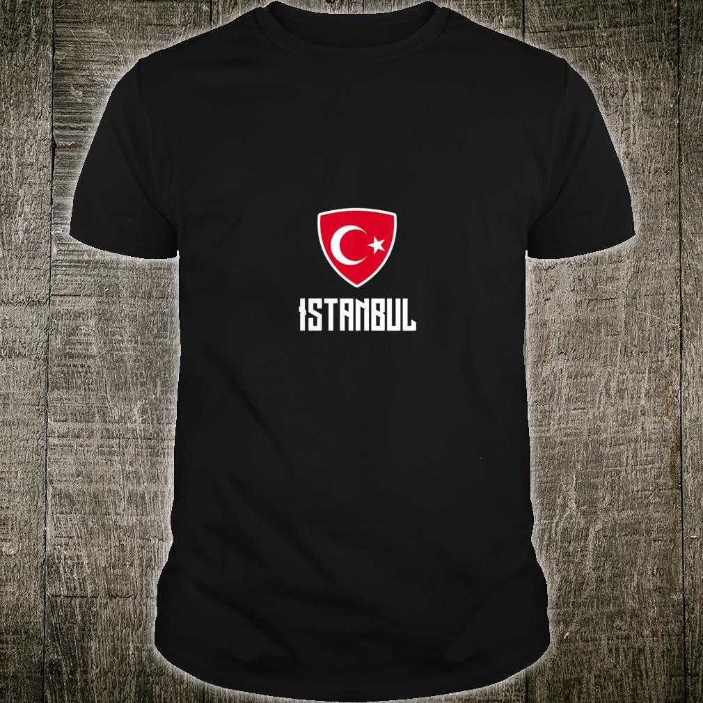 Istanbul Turkish Flag Roots Heritage Turkey Shirt