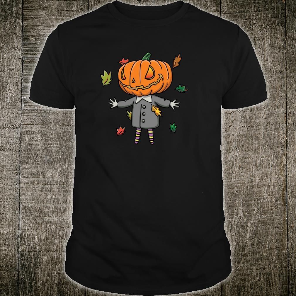 Jack O'Lantern In Snappy Suit Cute Halloween Shirt