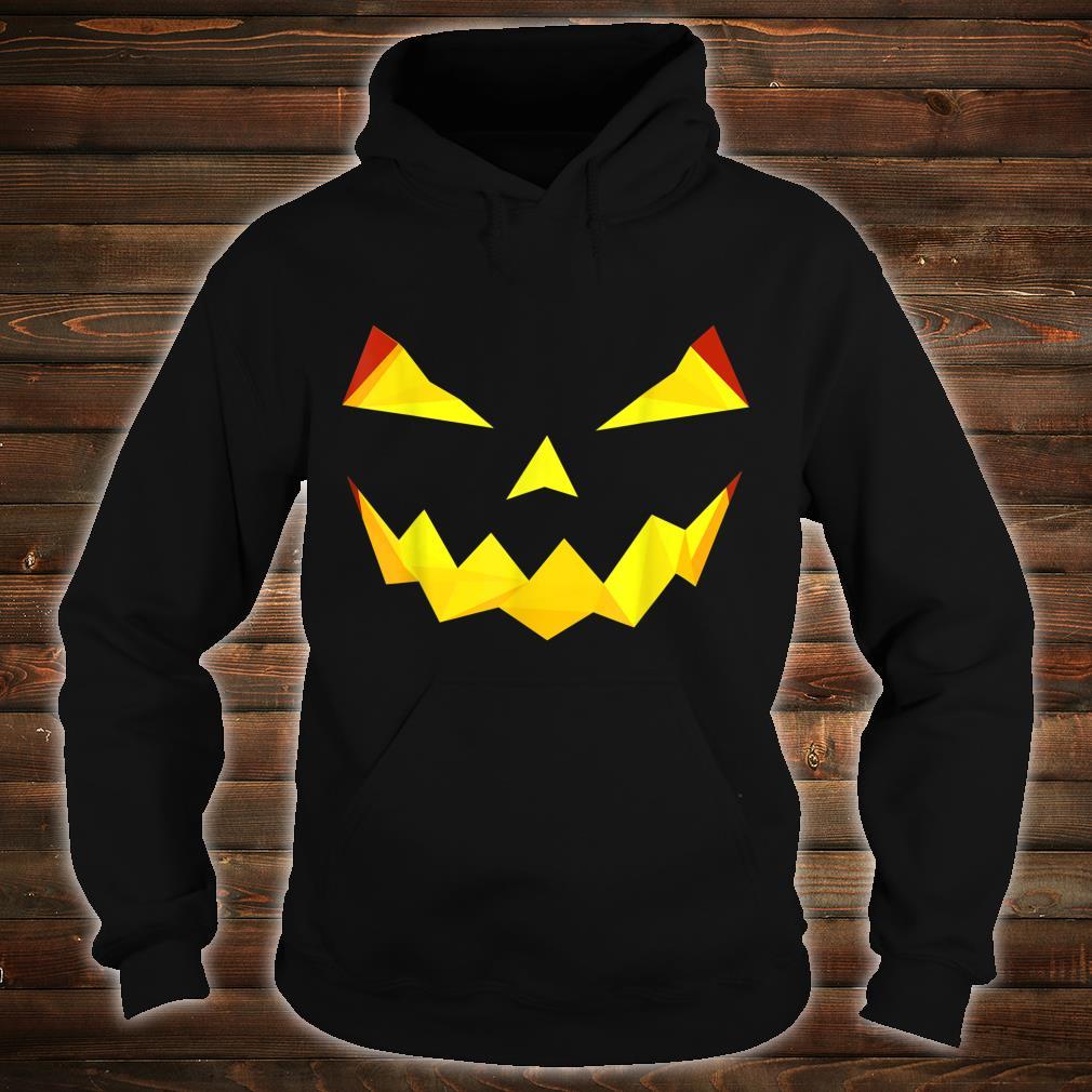 Jack'O Lantern Pumpkin Face Face Halloween Costume Shirt hoodie