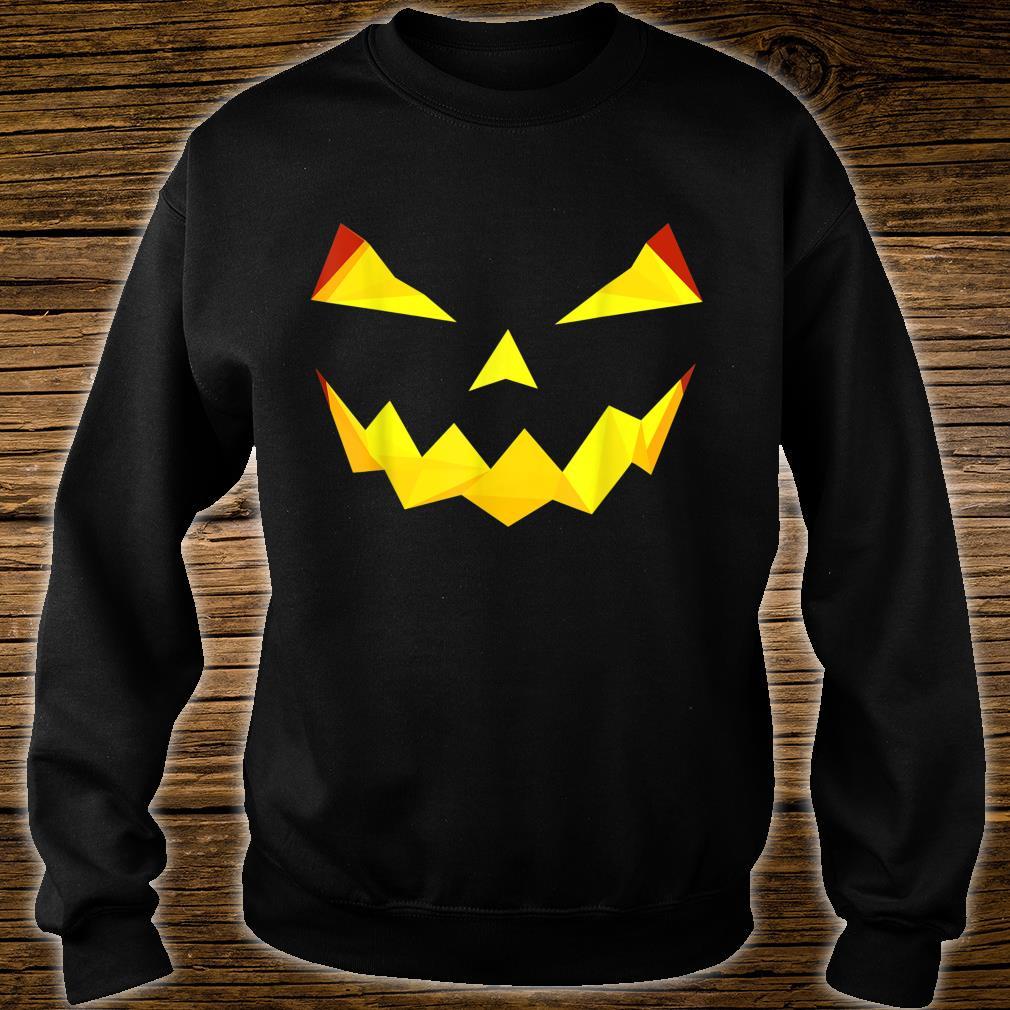 Jack'O Lantern Pumpkin Face Face Halloween Costume Shirt sweater