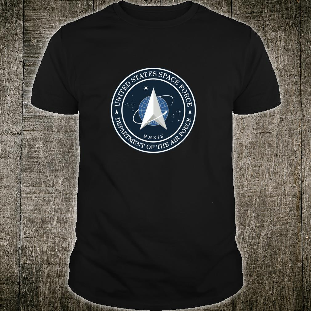 Neues United States Space Force Logo USSF Shirt