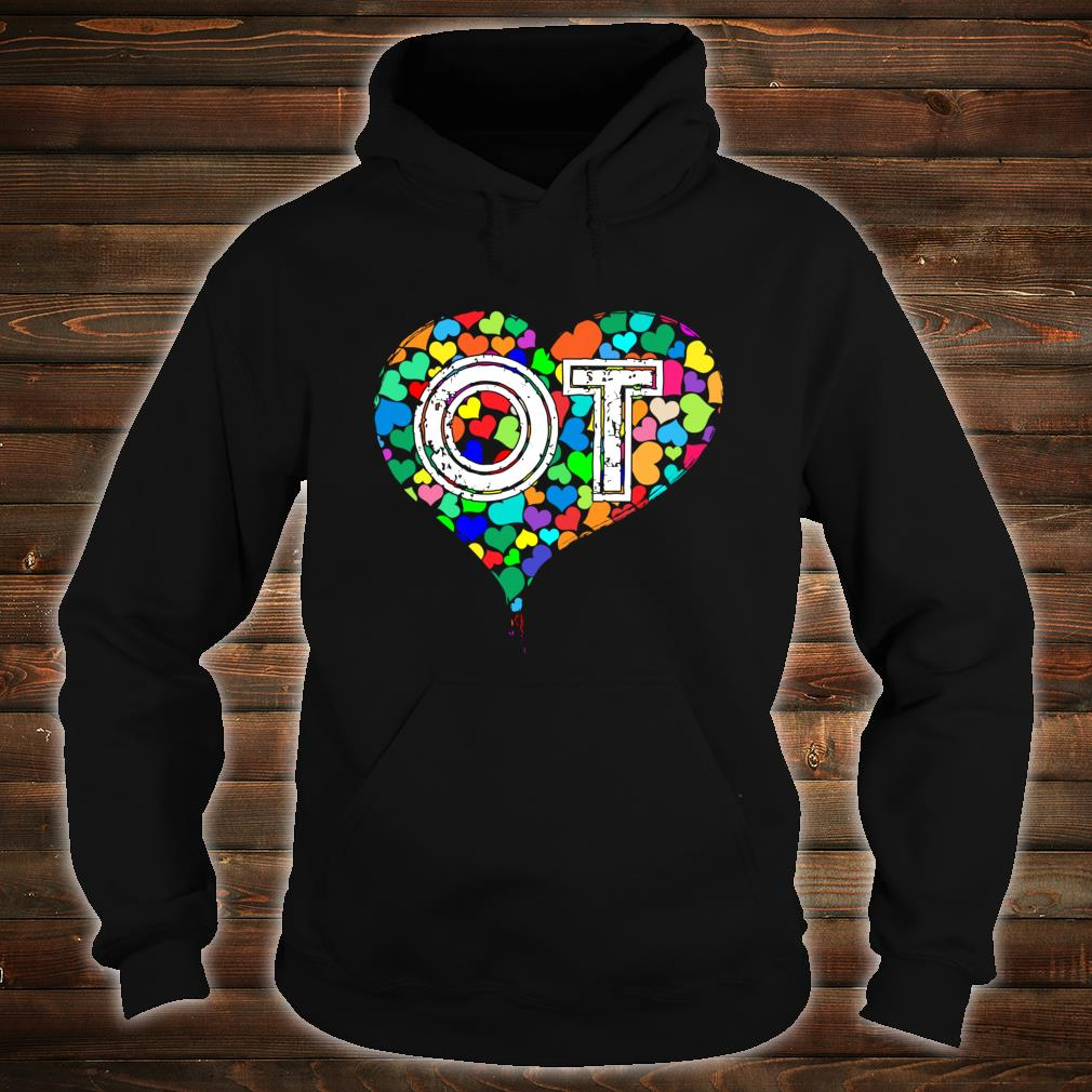 Occupational Therapy Vintage Stressed Shirt hoodie