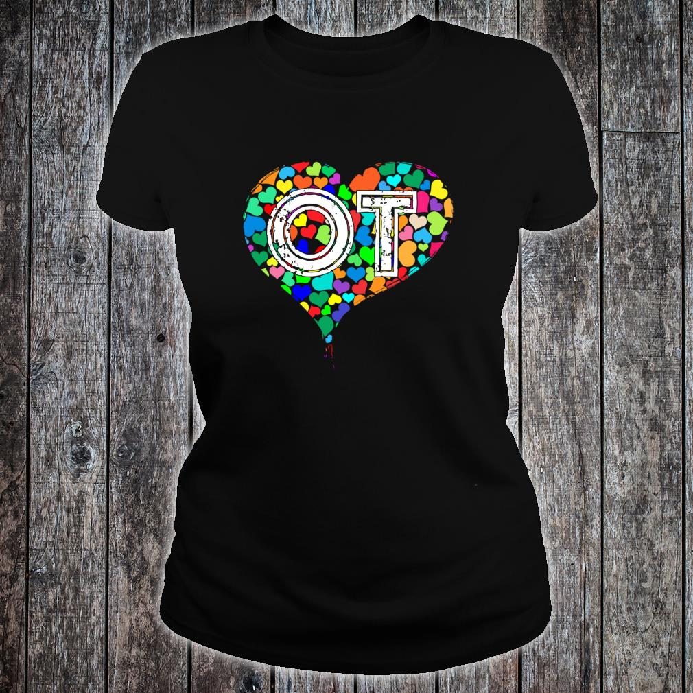 Occupational Therapy Vintage Stressed Shirt ladies tee